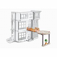 Playmobil Add-On Series - Helipad for Furnished Children's Hospital (6657)