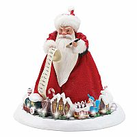 "Department 56 Nightmare Before Christmas Sandy Claws Figurine, 10.5"", Multicolor"