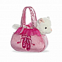 Aurora World Fancy Pals Purse Pet Carrier, Ballet Kitten