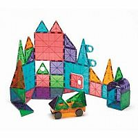 MagnaTiles® Clear Colors 48 Piece Deluxe Set