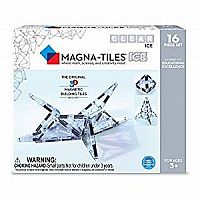 Magna-Tiles - 16-Piece ICE Set
