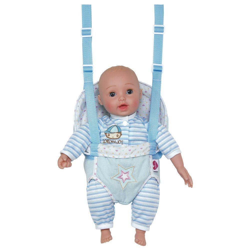 "Adora GiggleTime 15""Boy Vinyl Weighted Soft Body Toy Play Baby Doll with Laughing Giggles"