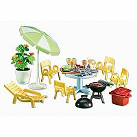 Playmobil Add-On Series - Patio Furniture