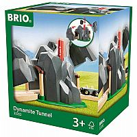 BRIO Dynamite Tunnel Train Set