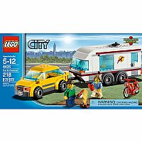 Lego: Car and Caravan 4435