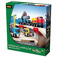 Schylling Brio Rail and Road Loading Set
