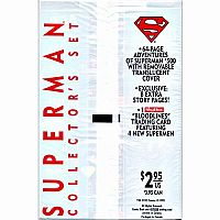 Adventures of Superman #500 White Bag Sealed Collector's Set (1993 DC Comics) Comics – 1993