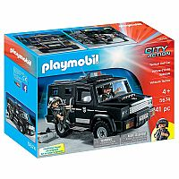 PLAYMOBIL Tactical Unit Car Playset