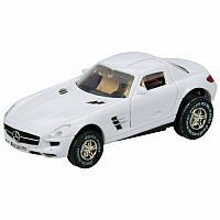 Darda: Mercedes Benz-SLS AMG White Ultra Speed 1/64 scale