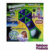 Magformers Magnetic Building Construction Set Extreme 63070