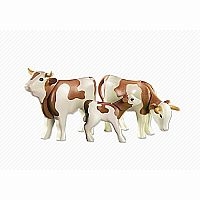 Playmobil Add-On Series - 2 Jersey Cows with Calf 6356