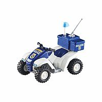Playmobil Add-On Series - Police Quad