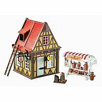 Playmobil Medieval Pottery Shop Add-On Series