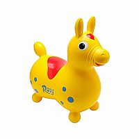 Ledraplastic Rody The Horse Hop & Ride On, Yellow