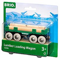 Lumber Loading Wagon | 4 Piece Train