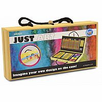 Xonex Just Art Set, 18 Colored Pencil Art Set
