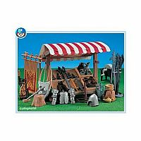 Playmobil Knight Market Stand