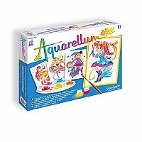 SentoSphere Aquarellum - Fashion Design Magical Girls - Arts and Crafts Watercolor Paint Set