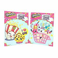 Details about  NEW Shopkins Jumbo Coloring & Activity Book ~ 96 pages