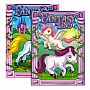 Details about  FANTASY LAND FOIL & EMBOSSED Coloring & Activity Book Pack oF - 48