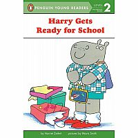 Harry Gets Ready for School (Penguin Young Readers, Level 2) Paperback – August 1, 1993