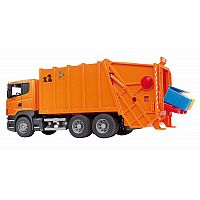 Bruder Scania R-Series Garbage Truck - Orange