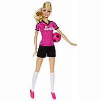 Barbie Careers Soccer Player Fashion Doll