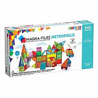 Magna Tiles Metropolis 110-Piece Set