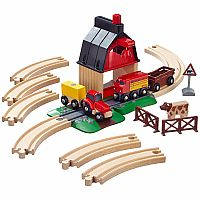 Schylling Brio Farm Railway Set