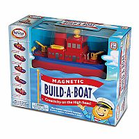 Popular Playthings Magnetic Build A Boat