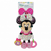 Disney Baby Minnie Mouse On The Go Pull Down Activity Toy