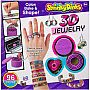 Shrinky Dinks Bake Shape 3D Jewelry