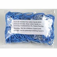 Rainbow Loom Rubber Bands -Blue