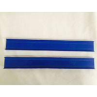 Darda: Replacement parts - Straight track Set of 4 2 blue 2 green