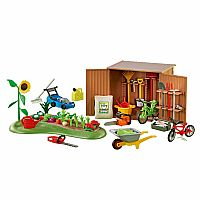 Playmobil 6558 Tool Shed With Garden