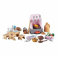 Playmobil Add-On Series - Castle Kitchen