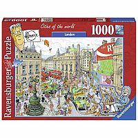 Ravensburger Piccadilly Circus 19213 1000 Piece Puzzle