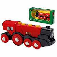 Brio Mighty Red Locomotive 33223