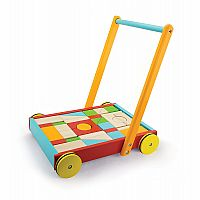 Windsor Baby Walker with Stacking Blocks (Fully Assembled) Ready for Local Pickup